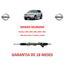 Caja Cremallera Dirección Hidráulica Nissan Murano 2004