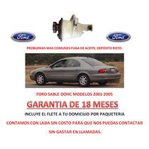Deposito P/ Bomba Direccion Hidraulica Y Caja Ford Sable Au1