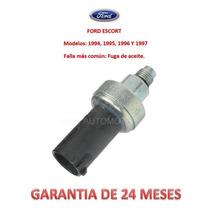 Sensor P/manguera Dirección Hidráulica Presión Ford Escort