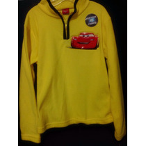 Sueter Sweater Cars Rayo Maqueen Ziper Frontal Luces Movil