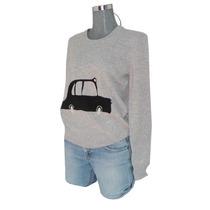 Sweater Burberry Talla Chica Nuevo Original Con Etiquetas