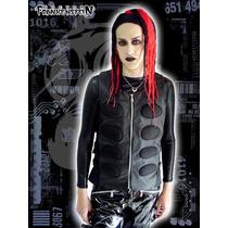 Chaleco Cybergoth Doctor Frankenstein Gotico Industrial