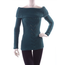 Suéter Turquesa Con Mangas Bebe