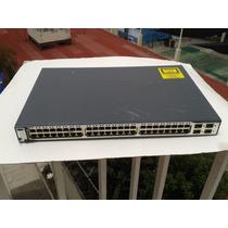 Switch Cisco Ws-c3750-48ts-s 48 Puertos 10/100 Capa 3