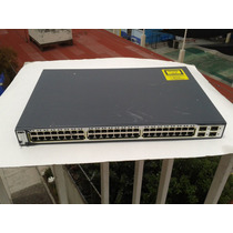 Switch Cisco Ws C 3750 48ts S 48 Puertos 10/100 Capa 3