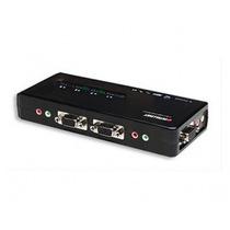 Kvm Switch Intellinet 151252 2 Ptos Usb Cables Audio +b+
