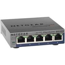 Switch Netgear Gs105e Gigabit 5 Puertos
