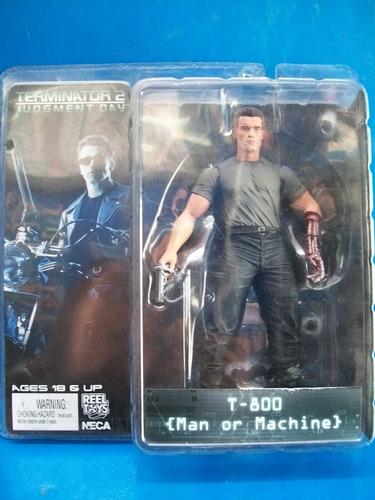 T-800 Man Or Machine Terminator Neca