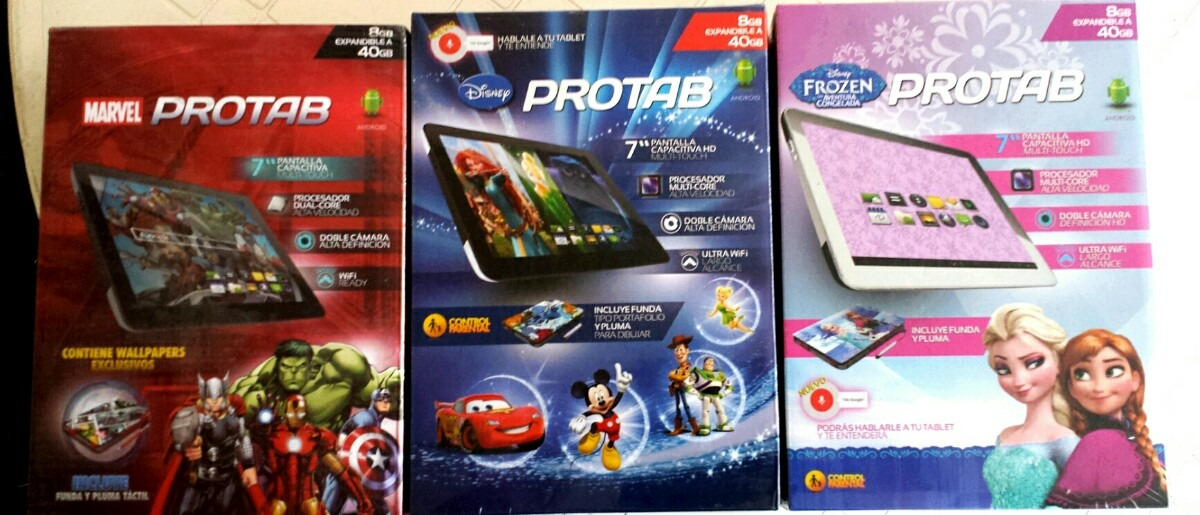 Fallo tablet Protab Disney