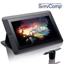 Wacom Monitor 13 Hd Tableta Digitalizadora Cintiq Mac Y Pc