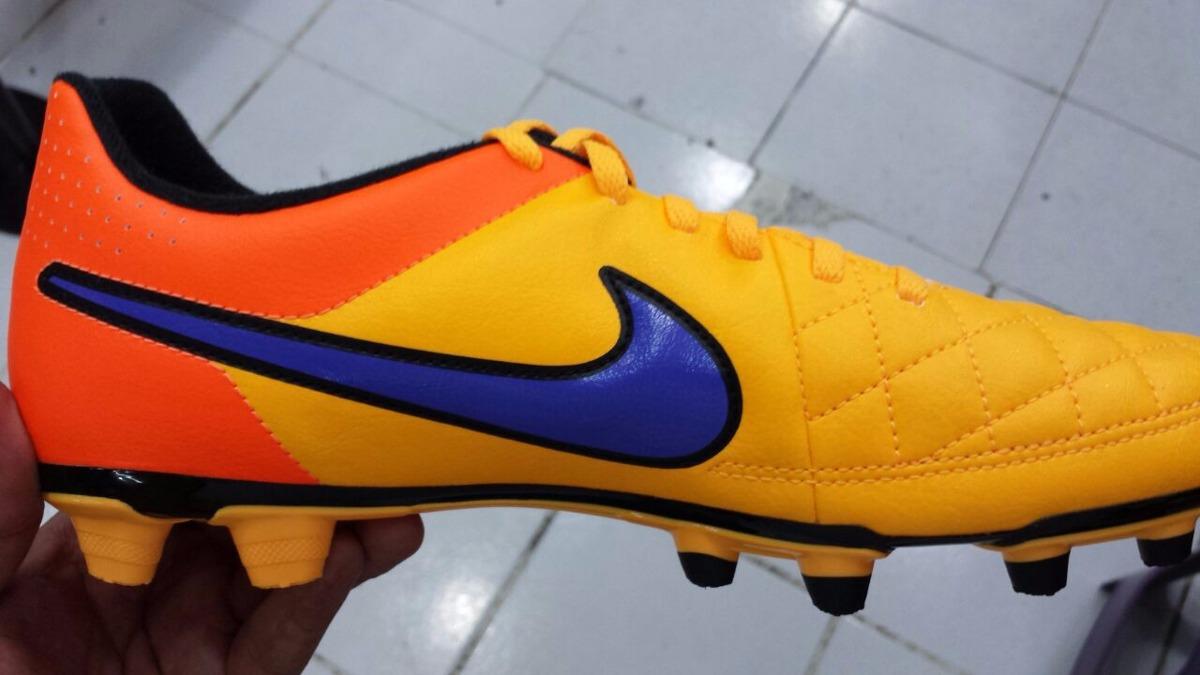 Taco Nike Tiempo Amarillo naranjas Liga 2015   1 499 00 fc079ccf4fe1e