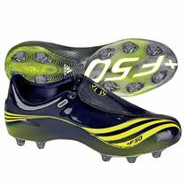 T-25.5 Mx Adidas Tacos Futbol Soccer F50.7 Tunit Verde Gris