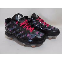 Zapatos Tenis Tacos Taquetes Niña Adidas Futboll 22cm E294