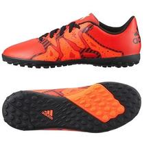 Adidas X 15.4 Tf J Tenis Futbol Rapido Infantiles 18 Mex