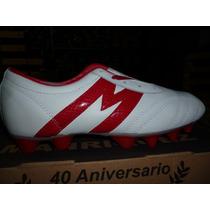 Zapatos Manriquez Colores Fotbol,tachone!!!!!!bco/rojo