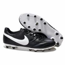 Zapato Nike Premier Fg - Negro/blanco Original Y Nuevo