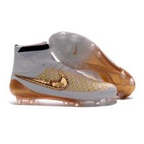 Tachones Nike Magista Obra Dorados Gold Edicion Limitada 30m