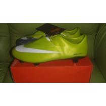Tacos Futbol Nike Mercurial Vapor Sg Ronaldo Suela Aluminio
