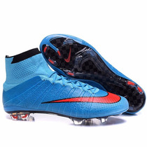 Nike Mercurial Superfly Fg Blue / Red - Julioshop