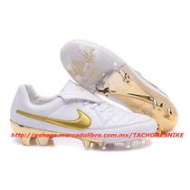 Nike Tiempo Legend V Touch Of Gold Ronaldinho Tacos Tachones
