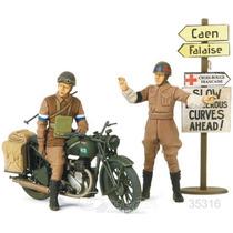 Tanque Tamiya Soldados Moto Britanicos 1/35/ Revell Testors