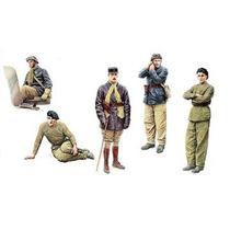 Toy Soldier - Francés Tank Crew 1:35 Miniart Militar