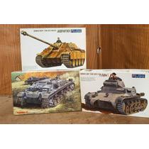 Lee Anunc X Lote 3 Modelos Tanques Ww Ii Esc 1/76