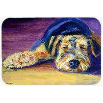Snoozer De Airedale Terrier De La Cocina O El Baño Mat 24x3