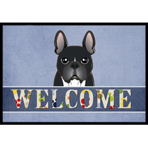 Bulldog Francés Mat Interiores O Exteriores De Bienvenida 2