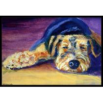 Snoozer Airedale Terrier Mat Interiores O Exteriores De 18x2