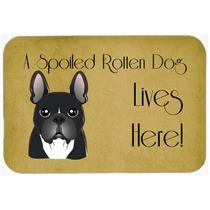 Bulldog Francés Perro Estropeado Vive Aquí Cocina O El