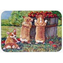 Ayudante De Apple Corgis Cocina O Baño Mat 20x30 7351cmt