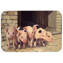 Cerdos Lechones De Daphne Baxter Cocina O Baño Mat 20x30 Bd
