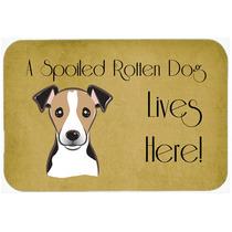Jack Russell Terrier Perro Estropeado Vive Aquí Cocina O El
