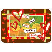 Guíe A Su Amor De San Valentín Del Corazón Día De Cocina
