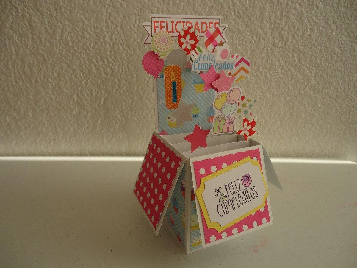 Tarjeta Caja Sorpresa, Super Original, Cumpleaños, Amor Baby ...