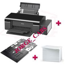 Epson L800 Con Bandeja Para Imprimir Credenciales De Pvc