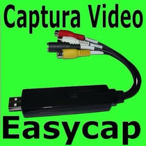 Tarjeta Capturadora De Video Usb Easycap Rca S-video
