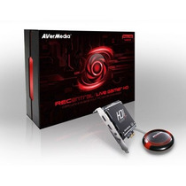 Avermedia Live Gamer Hdmi Capturadora De Video Pci Express