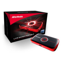 Avermedia Live Gamer Capturadora De Video Portatil Xbox Ps3
