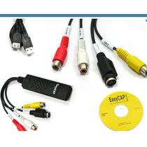 Tarjeta Capturadora Video Y Audio Usb 2.0 S-video Easycap