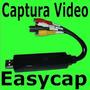 Easycap Tarjeta Capturadora Usb Rca S-video Audio Video Omm
