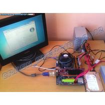 Kit Motherboard Biostar G31d-m7 V8.0, Procesador, 1gb Ddr2