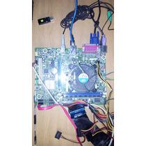 Tarjeta Madre Intel Socket 1155 Con Procesador Pentium G620
