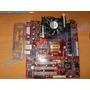 Kit Motherboard Pcchips P25g V3.0 + Procesador + Ram 2 Satas