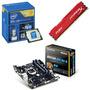 Kit Intel Core I7 3.6ghz+ Gigabyte Ga-b85m-ds3h-a + 8gb 1600