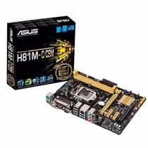 Motherboard H81m-c/csm Lga 1150 Usb3 Audio Pci-e