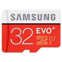 Samsung 32gb Evo Plus Clase 10 Micro Sdhc Con Adaptador De 8