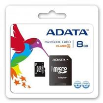 Memoria Micro Sd 8 Gb Sdhc Adata Garantia De Por Vida