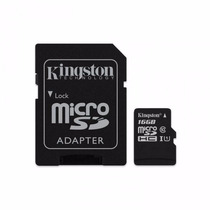 Memoria Micro Sd Clase 10 De 16 Gb Kingston